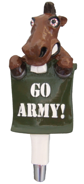 army mule beer tap handle